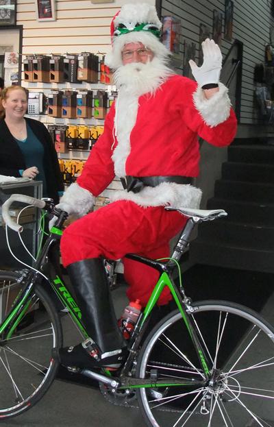 Santa pays us a visit