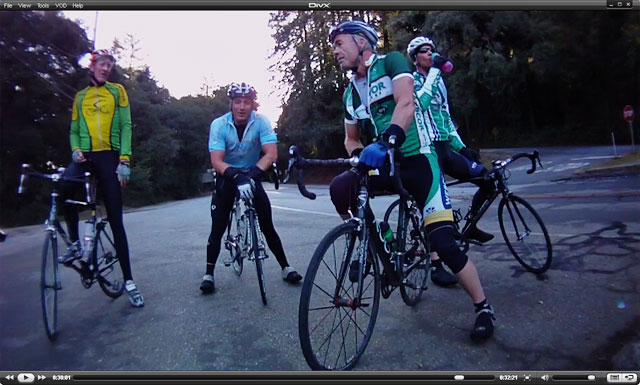 Nigel, Mike, Kevin & Karl at Sky Londa after heading up 84