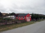 """The """"Bike Hut"""" on Tunitas, about a mile in from the coast. Water & food is available for purchase."""