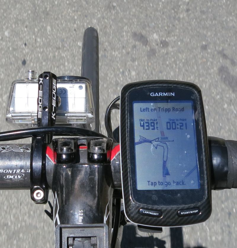 Finally figured out how to make turn-by-turn directions work on the Garmin 800!