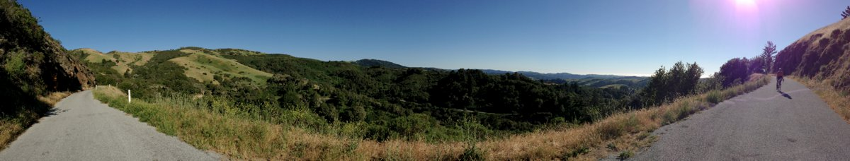 Widescreen (iPhone Panorama) shot of West Old LaHonda