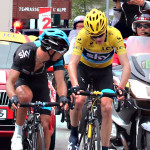 Chris Froome in trouble, 2nd trip up Alpe d'Huez