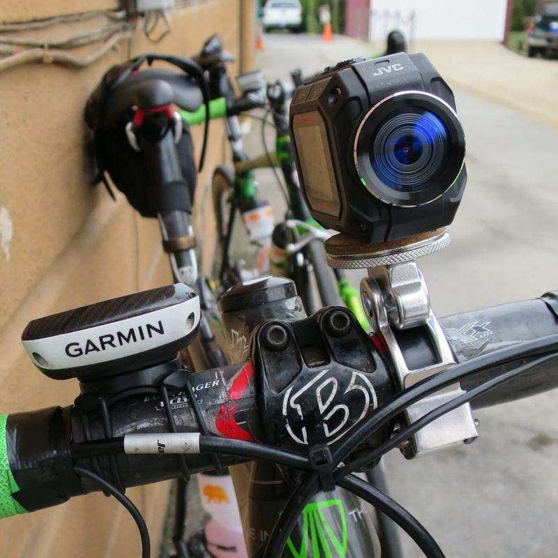 Video camera, Garmin GPS, electronic shifting... I'm not a tech geek!
