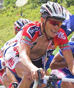 Chris Horner at the 2006 Tour de France