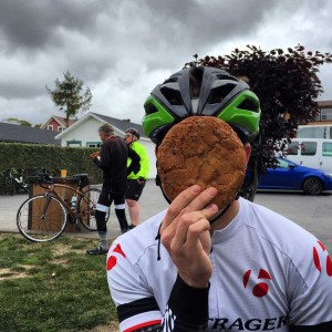 """Traditional cookie """"big as your face"""" test"""