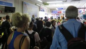 Zimbabwe customs line