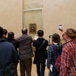 The usual Mona Lisa crowd