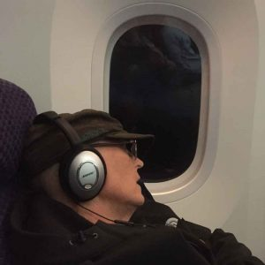 My wife and sone have no issues sleeping on a plane. I should learn from them.
